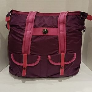 Lululemon purple plum Gym athletic bag